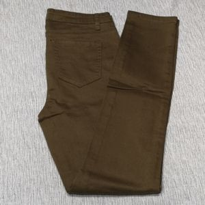 NEW Olive/Khaki Coloured Stretch Jeans